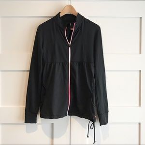 Oakley ombré zipper top / jacket